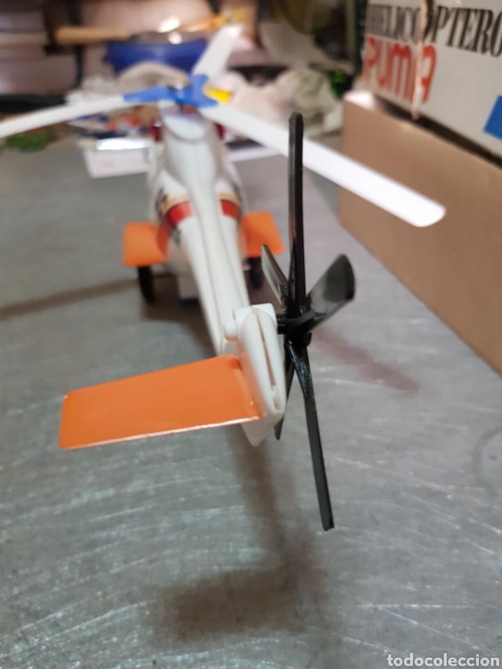 Juguetes antiguos Sanchís: Helicóptero Puma Sanchis Ref 365 en caja original - Foto 4 - 162437098