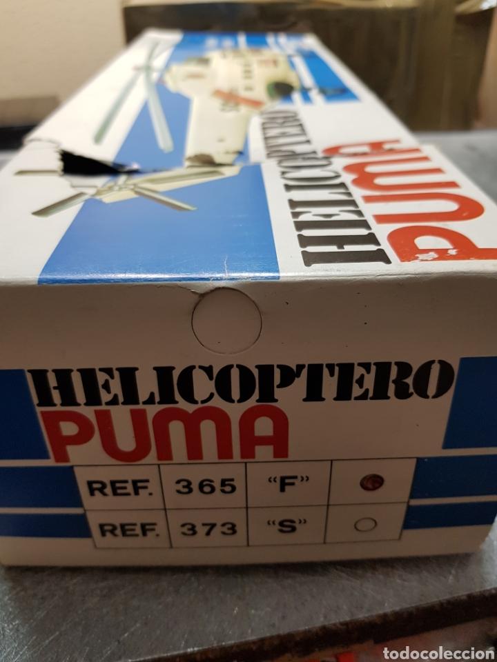 Juguetes antiguos Sanchís: Helicóptero Puma Sanchis Ref 365 en caja original - Foto 7 - 162437098