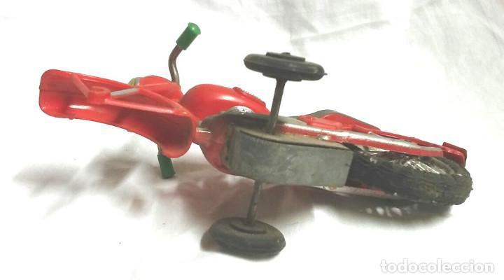 Juguetes antiguos Sanchís: Moto a Friccion Ref. IBI 140 de SANCHIS, para completar o recambio años 60 - Foto 2 - 162527798