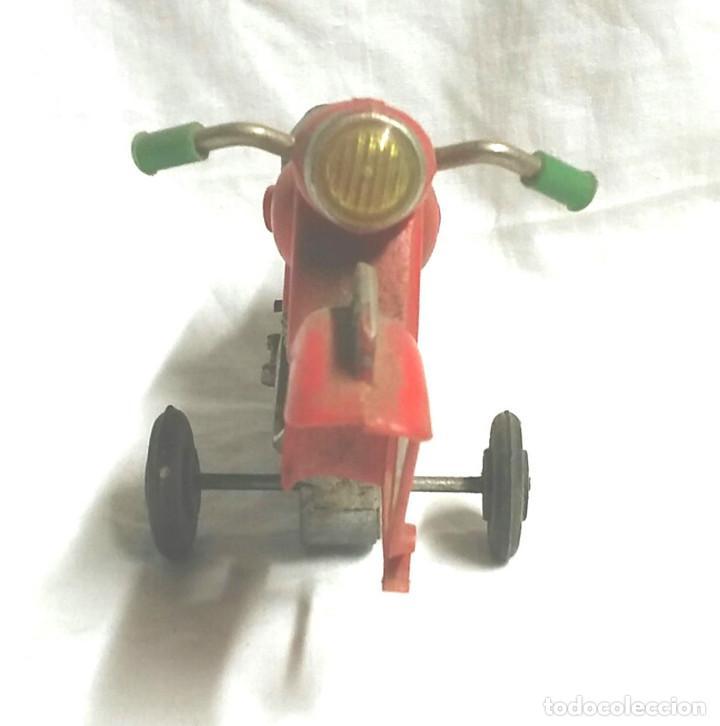 Juguetes antiguos Sanchís: Moto a Friccion Ref. IBI 140 de SANCHIS, para completar o recambio años 60 - Foto 3 - 162527798