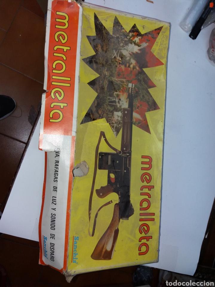 METRALLETA SANCHIS (Juguetes - Marcas Clásicas - Sanchís)