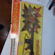 Juguetes antiguos Sanchís: METRALLETA SANCHIS. Lote 175102968