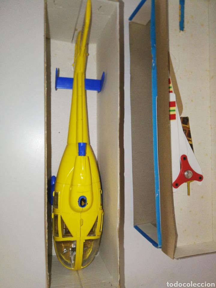 Juguetes antiguos Sanchís: Helicoptero aeroespacial Sánchis ref 293 f - Foto 3 - 167099498