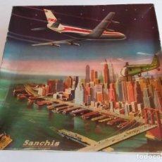 Juguetes antiguos Sanchís: AVIÓN SANCHIS BOEING 707 INTERCONTINENTAL TWA REF. 135. Lote 171272857