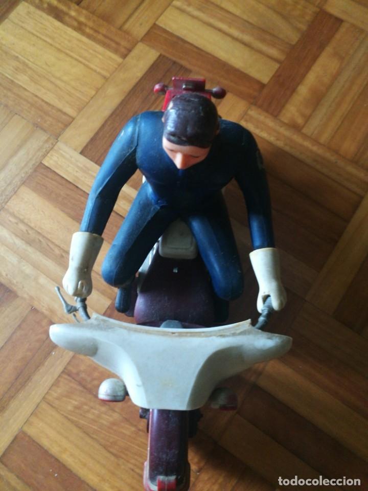 Juguetes antiguos Sanchís: Patrullero americano en moto de Sanchis. - Foto 3 - 172643240