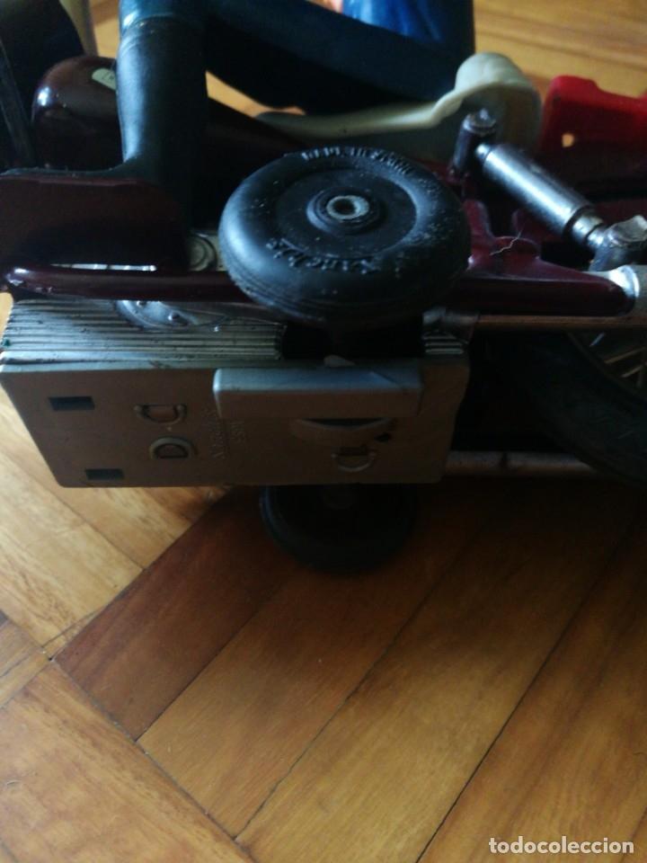 Juguetes antiguos Sanchís: Patrullero americano en moto de Sanchis. - Foto 4 - 172643240