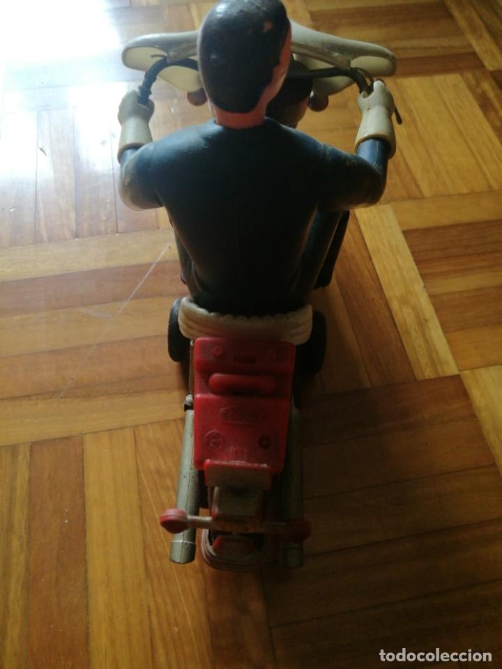 Juguetes antiguos Sanchís: Patrullero americano en moto de Sanchis. - Foto 5 - 172643240