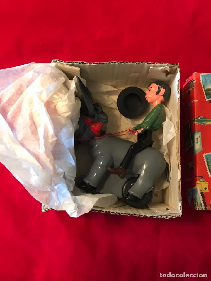 Juguetes antiguos Sanchís: Jinete a burro SANCHÍS - Nuevo de época - Foto 3 - 175104934