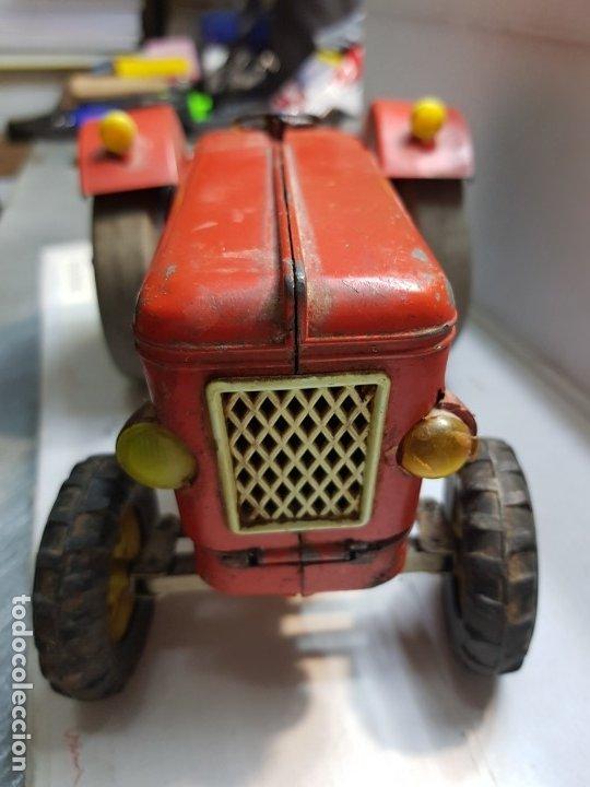 Juguetes antiguos Sanchís: Tractor Sanchis ref-176 extremadamente dificil - Foto 5 - 176122109