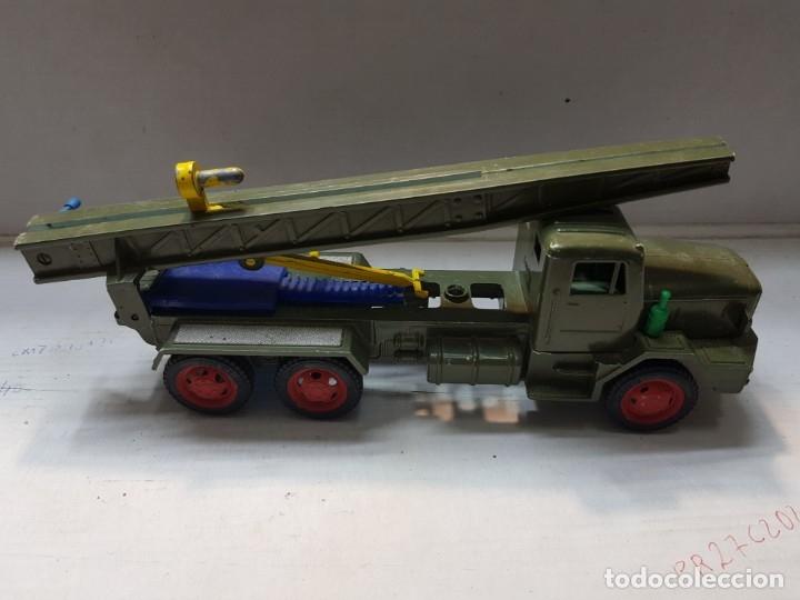 Juguetes antiguos Sanchís: Camión Lanza misiles de Sanchis ref-215 escaso - Foto 3 - 176127910