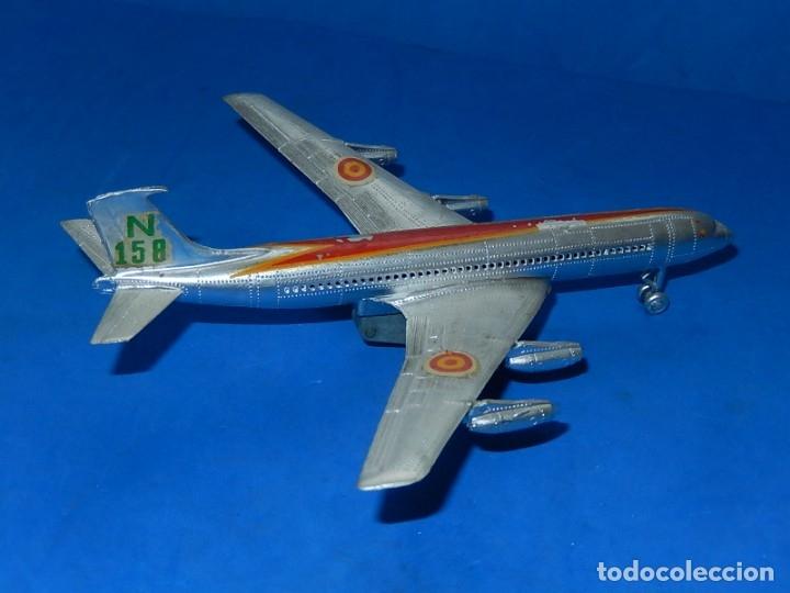 Juguetes antiguos Sanchís: Avión. Iberia N 158. Fabricado por Sanchís - Foto 2 - 176380244