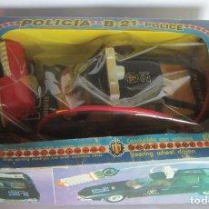 Juguetes antiguos Sanchís: CITROEN CX SANCHIS, POLICIA B-21 ELECTRICO, EN CAJA. CC. Lote 190112300