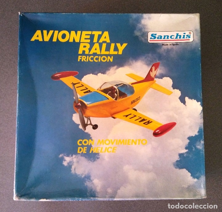 Juguetes antiguos Sanchís: Avioneta Rally Sanchis - Foto 10 - 180198441