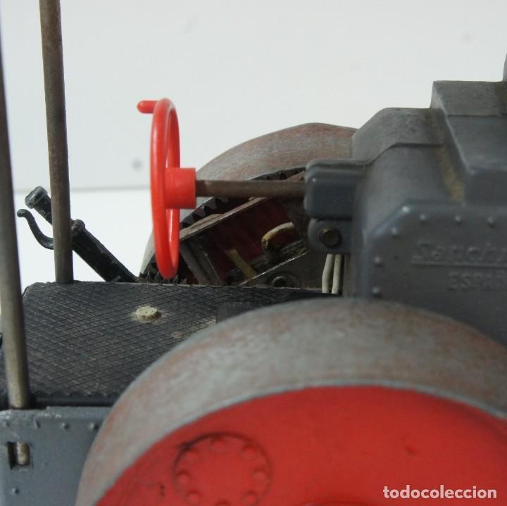 Juguetes antiguos Sanchís: APISONADORA CON MOTOR ELÉCTRICO METÁLICA DE SANCHIS . CON CAJA ORIGINAL . - Foto 16 - 188634891