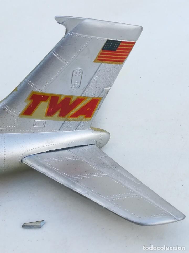 Juguetes antiguos Sanchís: Avión SANCHIS Boeing 707 Intercontinental TWA Ref. 135 - Foto 2 - 189125865