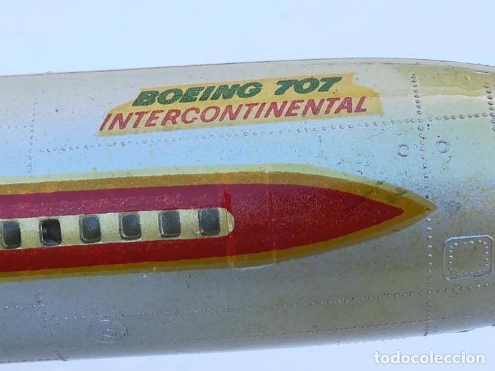Juguetes antiguos Sanchís: Avión SANCHIS Boeing 707 Intercontinental TWA Ref. 135 - Foto 6 - 189125865