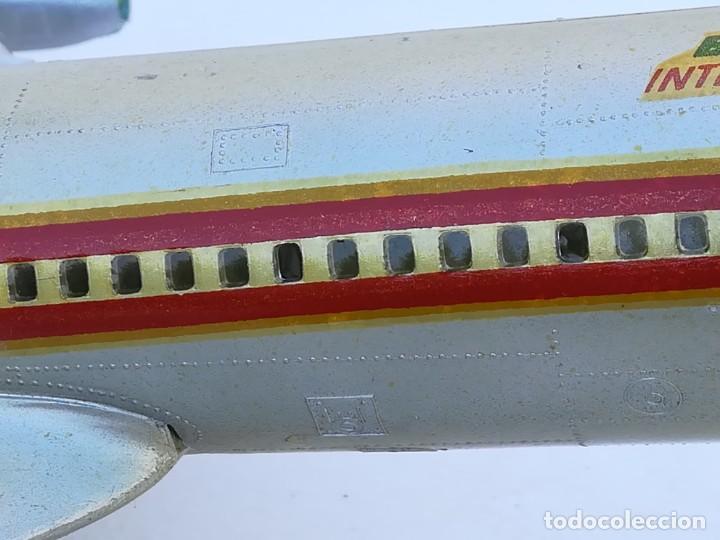 Juguetes antiguos Sanchís: Avión SANCHIS Boeing 707 Intercontinental TWA Ref. 135 - Foto 8 - 189125865