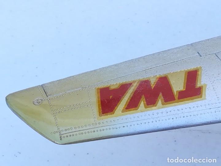 Juguetes antiguos Sanchís: Avión SANCHIS Boeing 707 Intercontinental TWA Ref. 135 - Foto 13 - 189125865