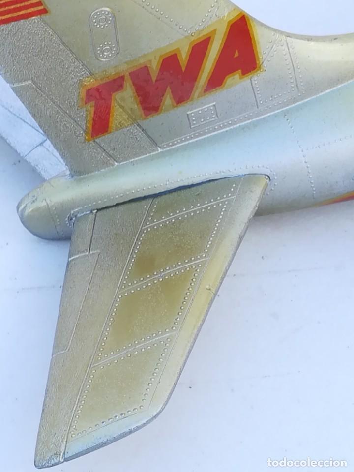 Juguetes antiguos Sanchís: Avión SANCHIS Boeing 707 Intercontinental TWA Ref. 135 - Foto 17 - 189125865