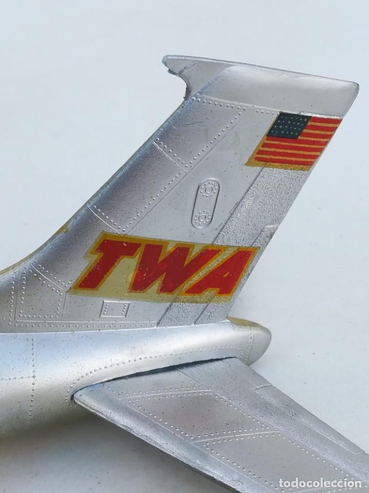 Juguetes antiguos Sanchís: Avión SANCHIS Boeing 707 Intercontinental TWA Ref. 135 - Foto 88 - 189125865