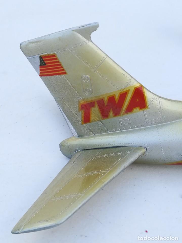 Juguetes antiguos Sanchís: Avión SANCHIS Boeing 707 Intercontinental TWA Ref. 135 - Foto 89 - 189125865