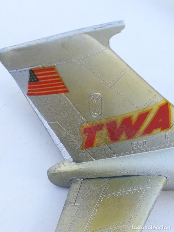 Juguetes antiguos Sanchís: Avión SANCHIS Boeing 707 Intercontinental TWA Ref. 135 - Foto 90 - 189125865