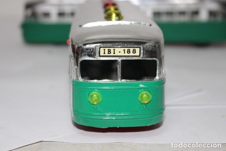 Juguetes antiguos Sanchís: Tranvía/Automotor IBI-188 de Sanchis con caja original. nuevo o como nuevo - Foto 6 - 191577230