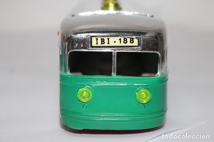Juguetes antiguos Sanchís: Tranvía/Automotor IBI-188 de Sanchis con caja original. nuevo o como nuevo - Foto 9 - 191577230