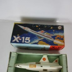 Juguetes antiguos Sanchís: COHETE, AVIÓN X-15 NASA - SANCHIS - Nº 210 - CAJA ORIGINAL - AÑOS 70. Lote 193952073