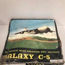 Juguetes antiguos Sanchís: AVION GALAXY, DE SANCHIS, A FRICCION, EN CAJA. CC. Lote 194901812