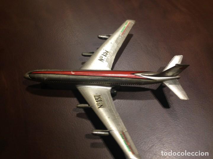 AVIÓN A FRICCIÓN SANCHIS BOEING 707 INTERCONTINENTAL. REF. 137. SIN CAJA (Juguetes - Marcas Clásicas - Sanchís)