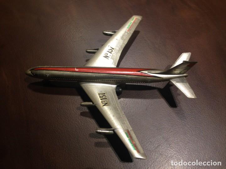 Juguetes antiguos Sanchís: Avión a fricción SANCHIS Boeing 707 Intercontinental. Ref. 137. Sin caja - Foto 2 - 199243955