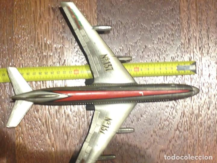 Juguetes antiguos Sanchís: Avión a fricción SANCHIS Boeing 707 Intercontinental. Ref. 137. Sin caja - Foto 4 - 199243955