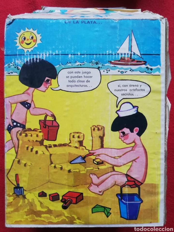 Juguetes antiguos Sanchís: PLAY ~ SOL - SANCHIS RF. 225 - JUEGO DE PLAYA Y CAMPO - PREMIO MOLINILLO DE ORO (Barcelona 1969-70) - Foto 7 - 203566100