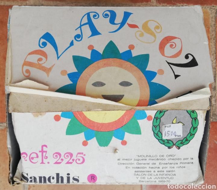 Juguetes antiguos Sanchís: PLAY ~ SOL - SANCHIS RF. 225 - JUEGO DE PLAYA Y CAMPO - PREMIO MOLINILLO DE ORO (Barcelona 1969-70) - Foto 10 - 203566100