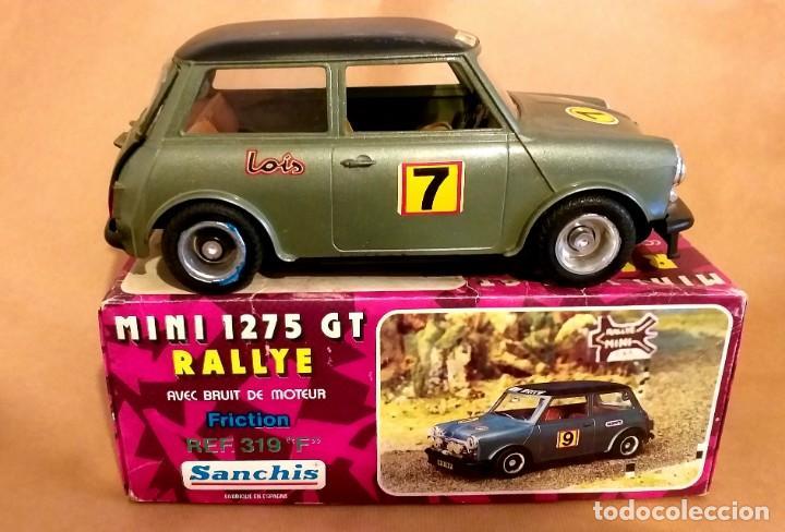 SANCHIS - MINI 1275 GT RALLYE - EN CAJA- GIUSSEPPE (Juguetes - Marcas Clásicas - Sanchís)