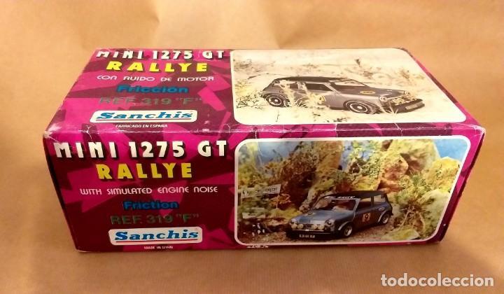 Juguetes antiguos Sanchís: SANCHIS - MINI 1275 GT RALLYE - EN CAJA- GIUSSEPPE - Foto 7 - 204187505