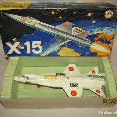 Juguetes antiguos Sanchís: ANTIGUO AVIÓN EXPERIMENTAL DE LA NASA X-15 LANZAMISILES A FRICCIÓN DE JUGUETES SANCHIS. Lote 205302112