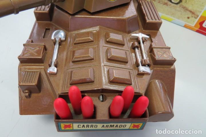 Juguetes antiguos Sanchís: CARRO ARMADO A FRICCION - SANCHIS - FONDO DE JUGUETERIA - Foto 3 - 206837798
