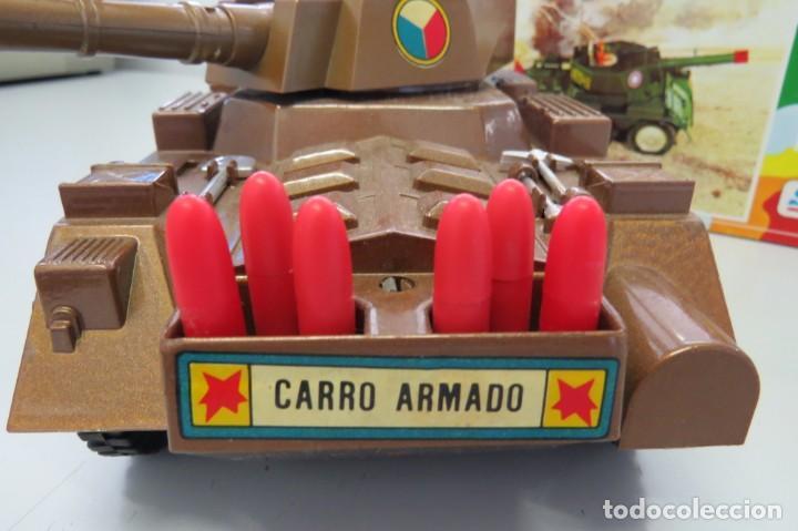Juguetes antiguos Sanchís: CARRO ARMADO A FRICCION - SANCHIS - FONDO DE JUGUETERIA - Foto 4 - 206837798
