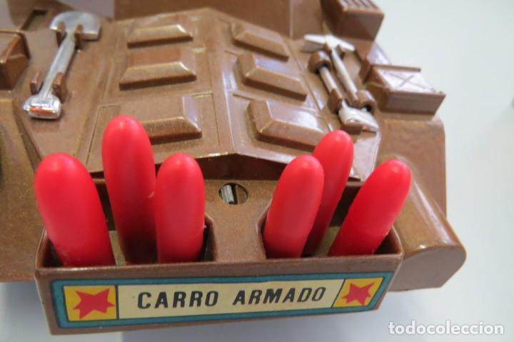 Juguetes antiguos Sanchís: CARRO ARMADO A FRICCION - SANCHIS - FONDO DE JUGUETERIA - Foto 20 - 206837798