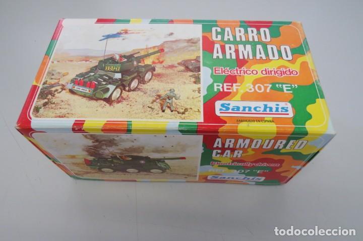 Juguetes antiguos Sanchís: CARRO ARMADO A FRICCION - SANCHIS - FONDO DE JUGUETERIA - Foto 23 - 206837798