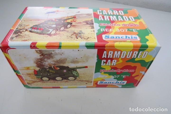 Juguetes antiguos Sanchís: CARRO ARMADO A FRICCION - SANCHIS - FONDO DE JUGUETERIA - Foto 27 - 206837798