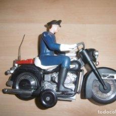 Juguetes antiguos Sanchís: MOTO DE POLICIA SANCHIS. FUNCIONANDO EL MOTOR.. Lote 212654883
