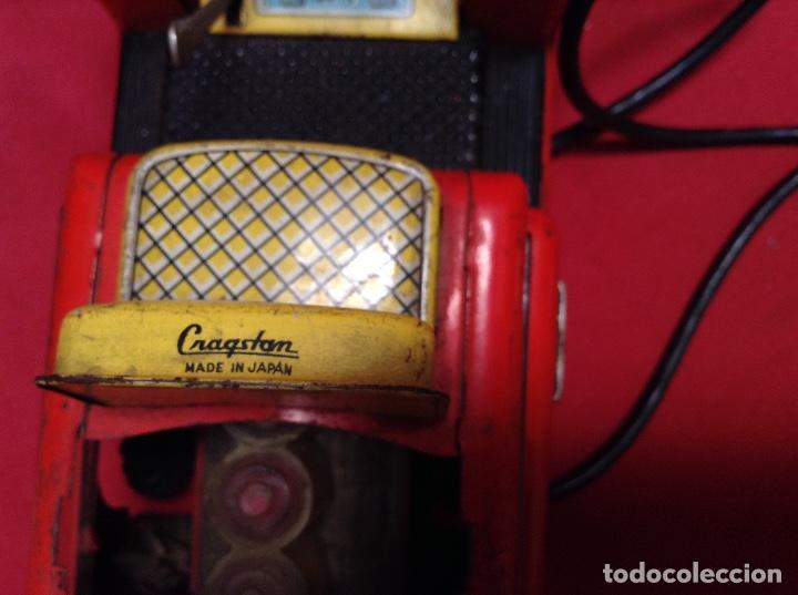 Juguetes antiguos Sanchís: Elevadora toro o carretilla , marca Sanchís y apisonadora más tanque jabato de rico - Foto 6 - 228114645
