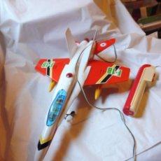 Juguetes antiguos Sanchís: SANCHÍS AVIÓN CABLEDIRIGIDO F-18 SIN CAJA. Lote 229198030