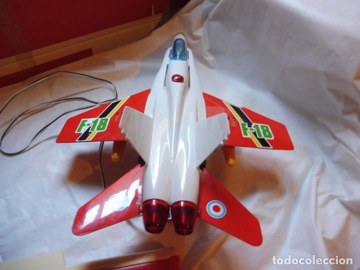 Juguetes antiguos Sanchís: Sanchís avión cabledirigido F-18 sin caja - Foto 6 - 229198030