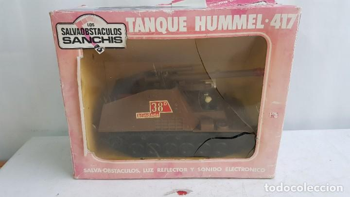 TANQUE MILITAR HUMMEL 417 SALVAOBSTACULOS REF 348 DE SANCHIS (Juguetes - Marcas Clásicas - Sanchís)