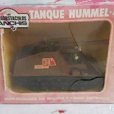 Juguetes antiguos Sanchís: TANQUE MILITAR HUMMEL 417 SALVAOBSTACULOS REF 348 DE SANCHIS. Lote 237012295