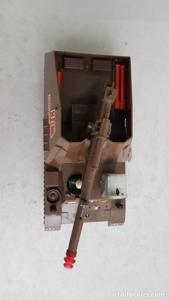 Juguetes antiguos Sanchís: Tanque militar hummel 417 salvaobstaculos ref 348 de sanchis - Foto 12 - 237012295